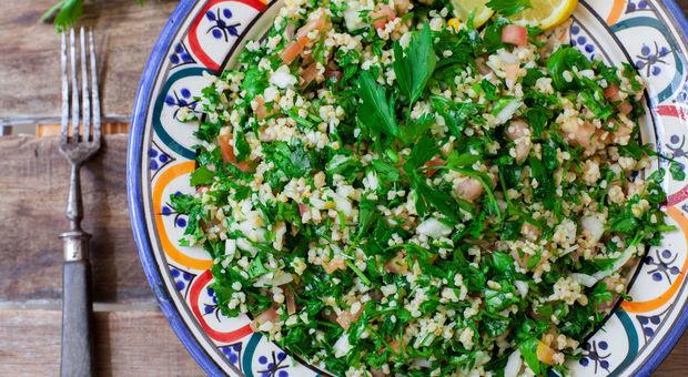 Tabbouleh med smak av Turkiet