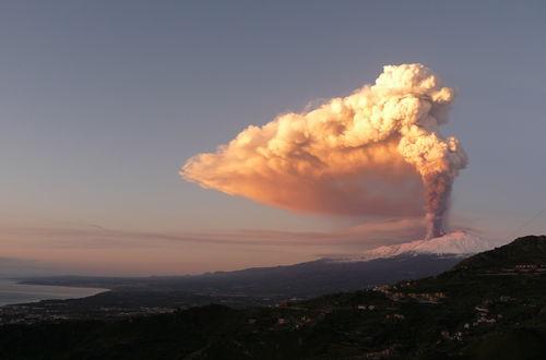 Vulkanutbrott 5 Jan 2012