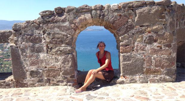 Rosita på Lesbos