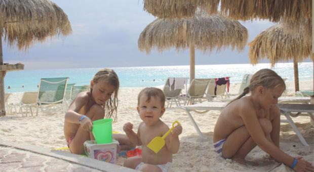 Rositas barn på Aruba