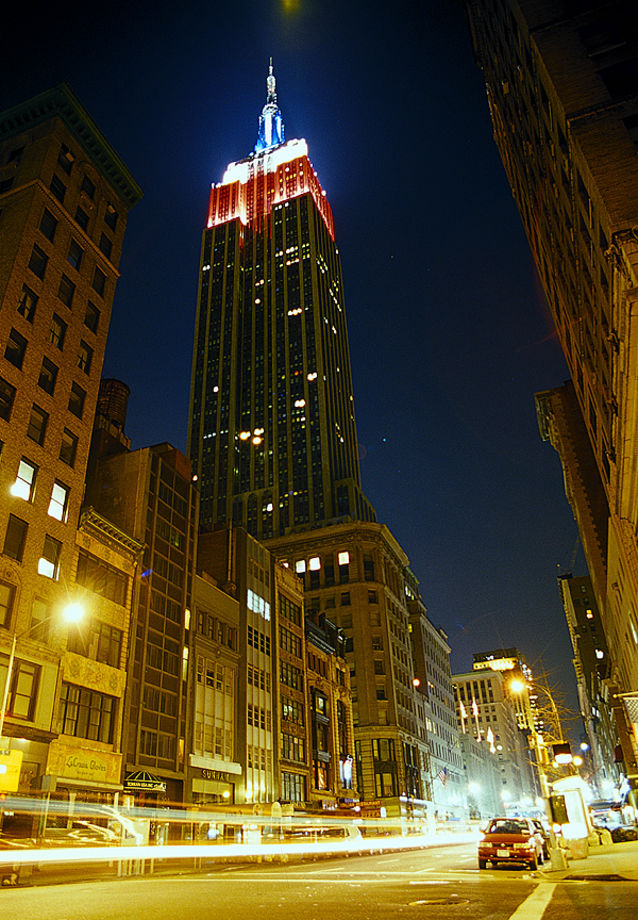 empire state building new york new york state usa. Black Bedroom Furniture Sets. Home Design Ideas
