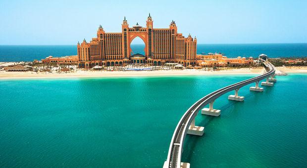 Lyxiga hotell i Förenade Arabemiraten