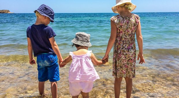Ta med barnen till solen