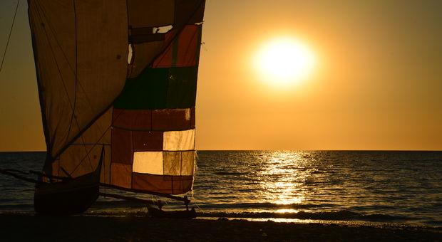 Solnedgången på Madagaskar är något extra...!