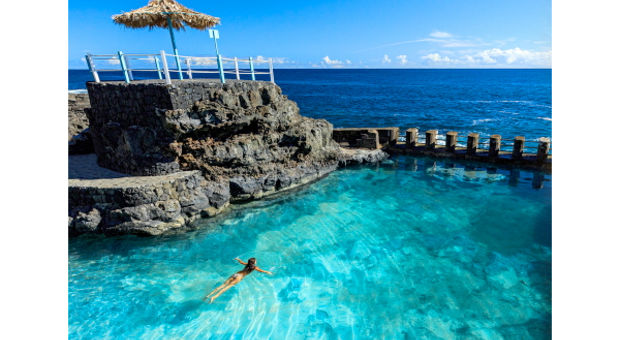 Ta ett dopp på La Palma