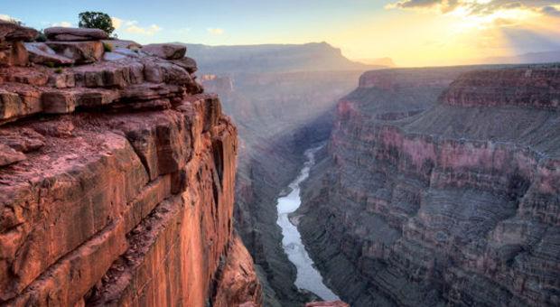 Grand Canyon toppar den här listan.
