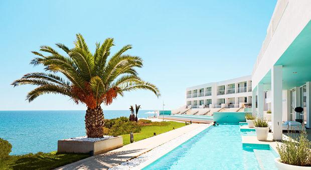 Fantastiska Oceans Beach Club på Kreta