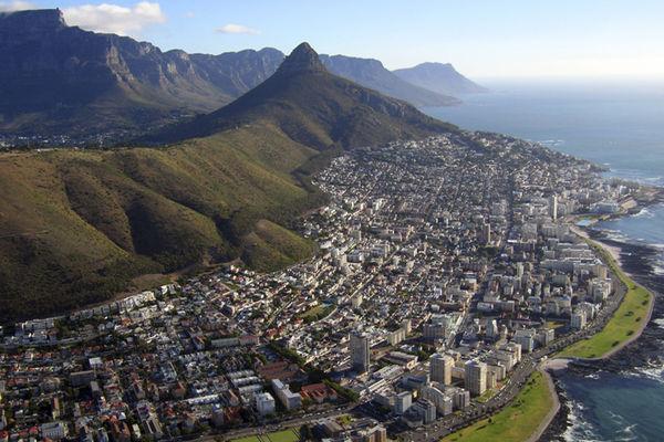 Utsikten över häftiga Kapstaden.Foto: iStock