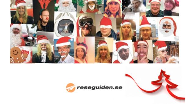 God Jul från galna och restokiga Reseguiden!