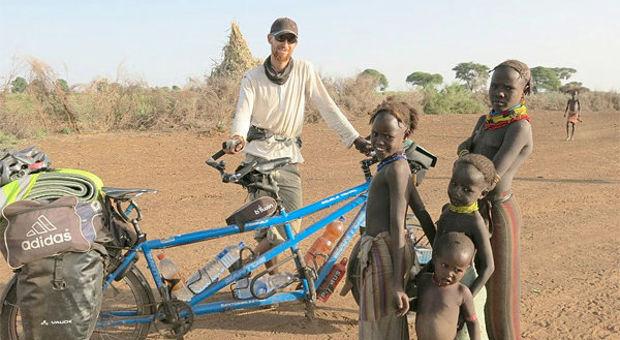 På cykel i Etiopien